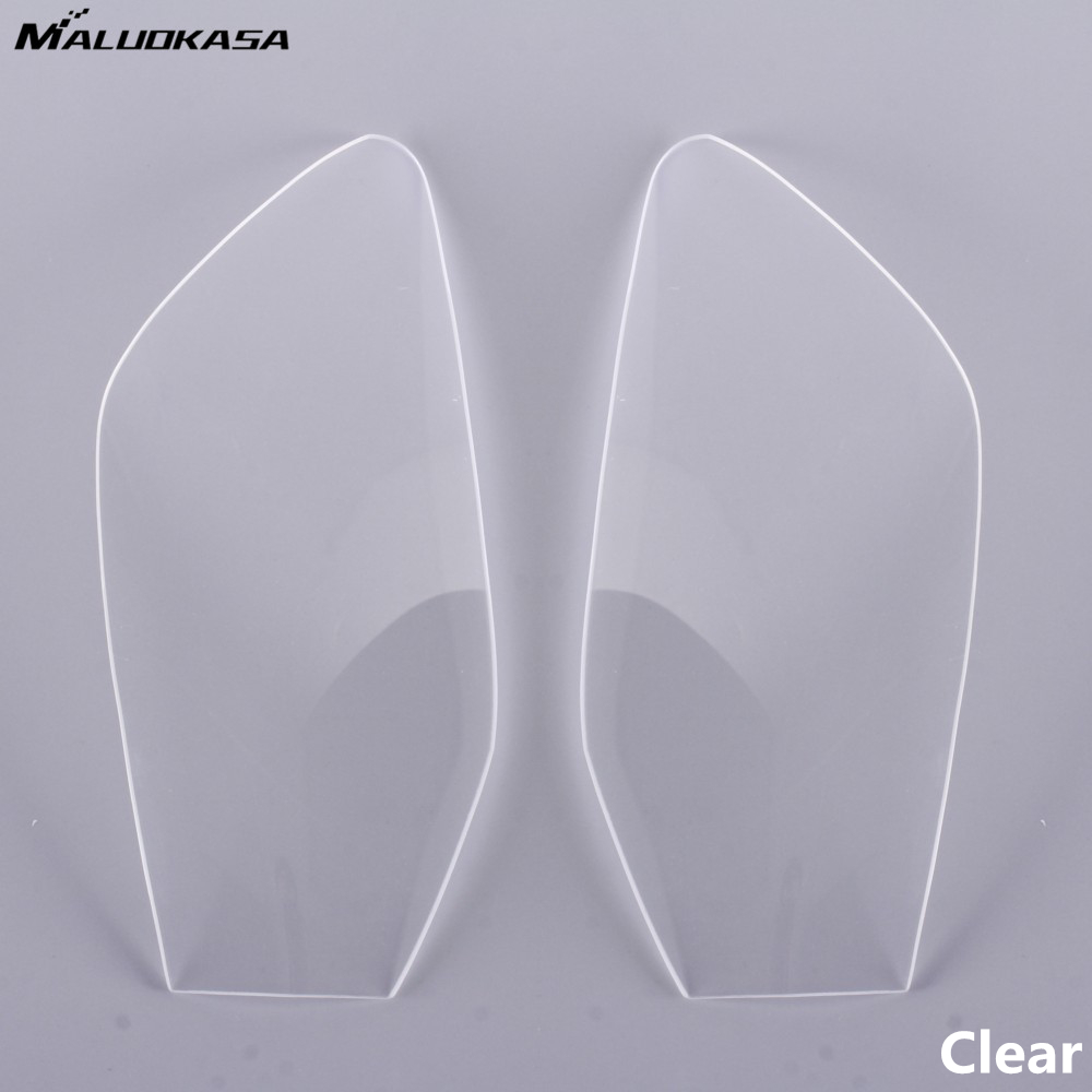 MALUOKASA Motorcycle Headlight Lens Cover Shield Protector for Yamaha YZF R6 1998 1999 2000 2001 2002 Motorbike Motocross Lens motorcycle scooter electroplate front headlight headlamp head light lamp small mask cap cover shield large for yamaha bws x 125