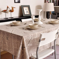 Modern Tablecloth Art Nordic Simple Newspaper Table Coffee Table Cloth Cotton Rectangular TV Table Cover Table Mat