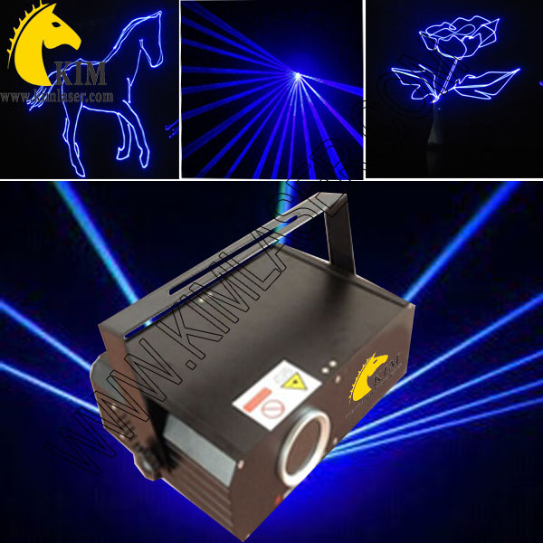 ILDA 500mW blue animation laser light with SD Card/30kpps blue laser light for party/logo projector/lighting for holiday