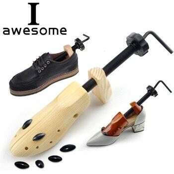 Wysokiej Jakości 1 PC 2-drożny Drewna Drewniane buta drzewa Regulowany Kształt Dla kobiet i mężczyzn buty drzewo Profesjonalnych Butów Nosze