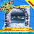 Nova caixa ufs turbo para samsung & nokia & sonyericsson & lg com quatro cabos