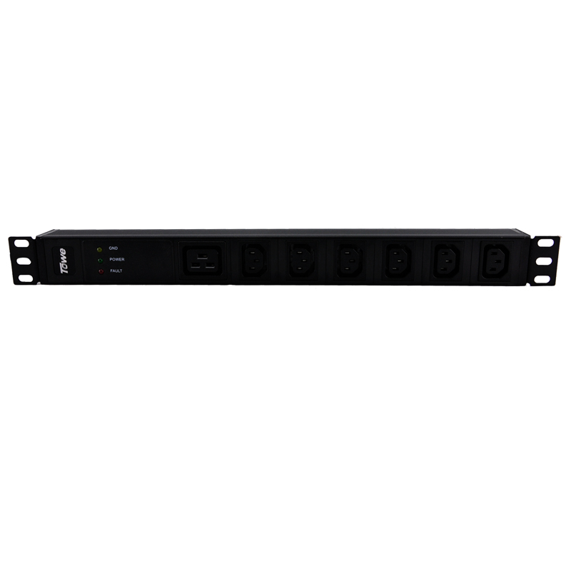 TOWE EN16/I705S 16A 7 WAYS IEC320 C13 PDUs Cabinet socket  Power distribution Unit WITH SPD c s i сериал купить