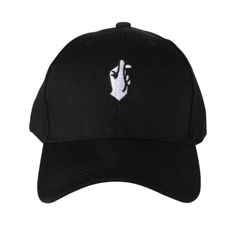 Detalle Comentarios Preguntas sobre 2017 nuevos hombres de las mujeres  sombreros del Snapback Flipper corazón gorra de Golf amor gestos dedo  bordado gorras ... 010c2c59534