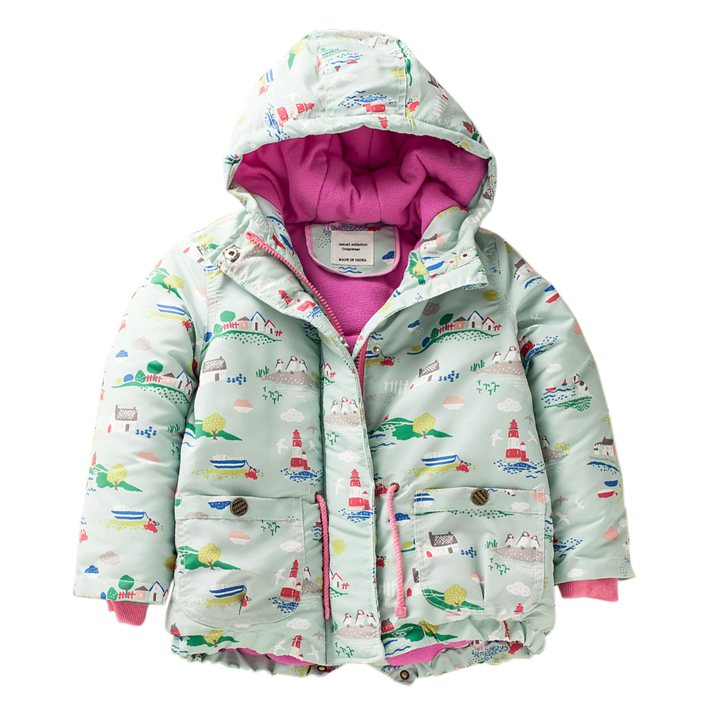 M42 Spring Autumn Winter Child Thicken Padded Lining Jacket Hoodies Boy&Girl Keep Warm Coat kids Tops Outwear kids Windbreaker m43 spring autumn winter child thicken padded lining jacket hoodies boy