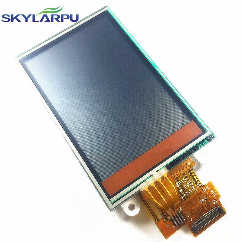 skylarpu 2.6 inch TFT LCD Screen for Garmin Rino 610 650 GPS LCD display Screen with Touch screen digitizer Repair replacement skylarpu 2 2 inch lcd screen module replacement for lq022b8ud05 lq022b8ud04 for garmin gps without touch