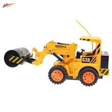 RC роликовые тележки Беспроводной Управление дорожный каток 5ch 4 колеса каток инженерных грузовик модель Электронные игрушки