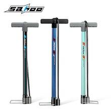 цена на SAHOO Bike Pump Bicycle Tire Portable Inflator Air Pump Mountain Road Bike MTB Cycling Air Press Frame Accessories 311376