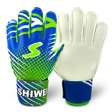 Teenagers Gloves Latex Goalie Breathable Soccer Finger Protection