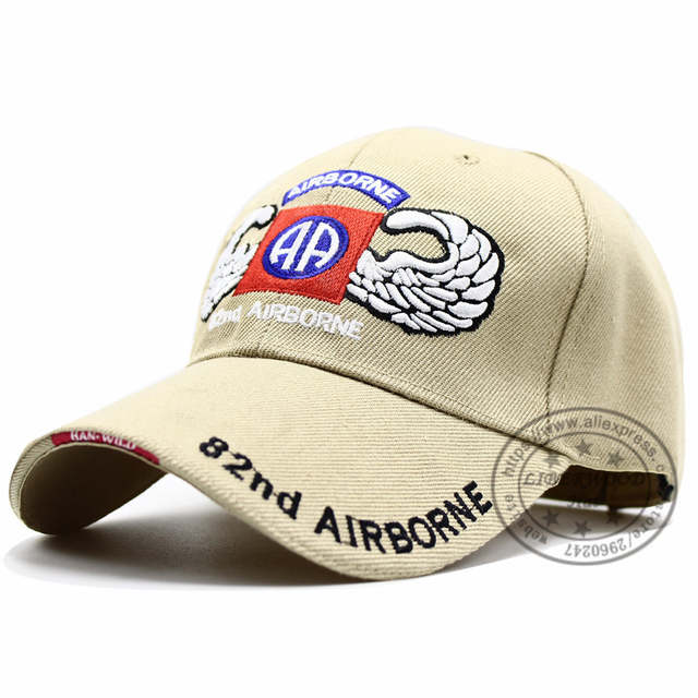 placeholder LIBERWOOD US Army 82nd Airborne Division with Wings Embroidered  Ball Cap Troops 3D Baseball Cap USA 5672e28cd791