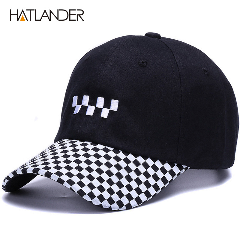 HATLANDER High quality Cotton casual dad hat adjustable baseball caps  snapback soft curved gorras casquette outdoor sports hats bb103704b90