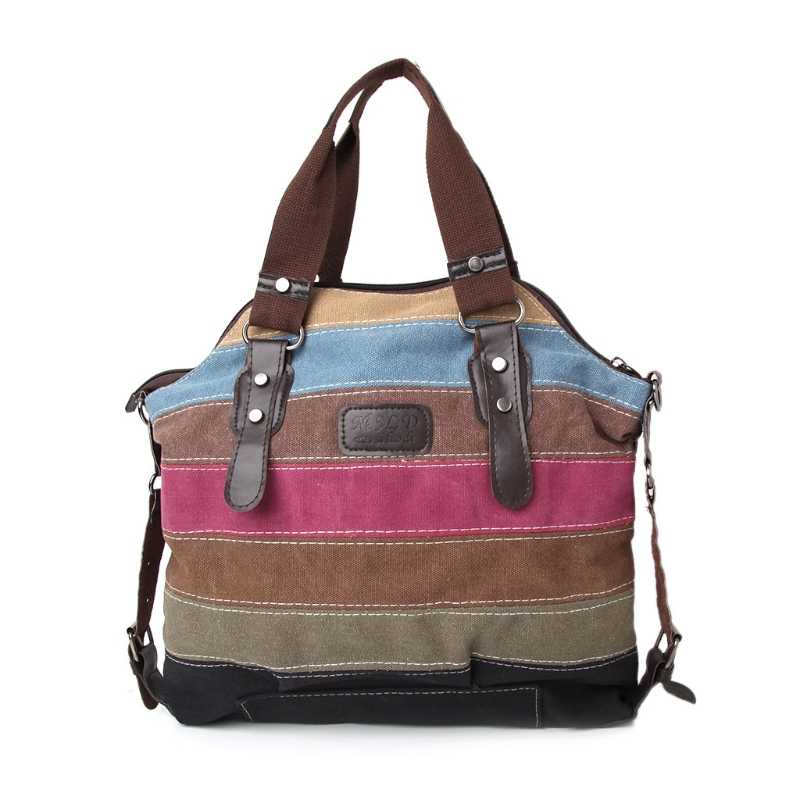 1Pc Women Shoulder Bag Canvas Satchel Crossbody Tote Handbag Purse Messenger Fashion New Hot