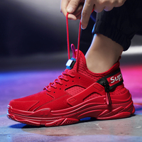 Autumn Winter Men Trainers Sneakers Running Shoes suede leather Comfortable Jogging Sneakers Mens Sport Trainers running shoes 4