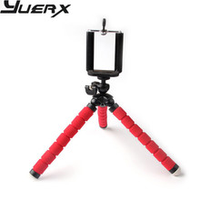 Red Flexible Octopus Tripod Bracket Phone Camera Holder Stand Mount For iphone4S 5S 6 Samsung Photo Free Shipping free shipping universal metal white wall mount stand bracket for cctv security camera