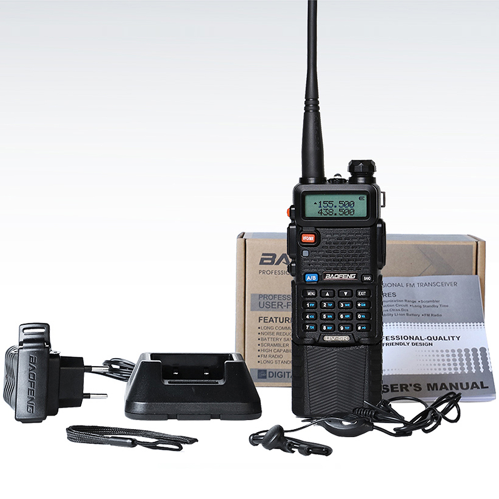 Image 5 - Baofeng UV 5R 8W 3800mAh Battery Walkie Talkie 128 Dual Band Two Way Radio UHF&VHF 136 174MHz&400 520MHz  Ham Radio Transceiver-in Walkie Talkie from Cellphones & Telecommunications