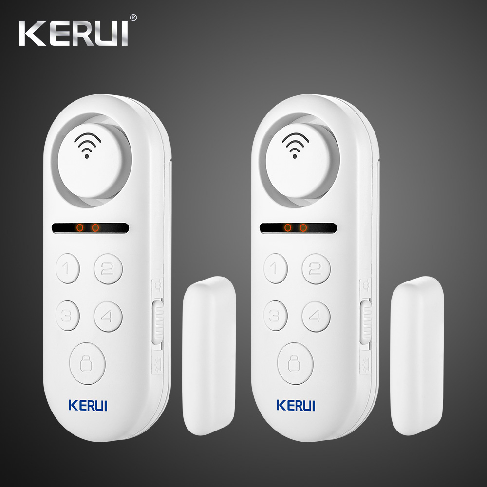 KERUI WD3  WIFI Door Alarm System APP Control Home Security Alarm 120dB Window Sensor Password Burglar Alert Security System 1