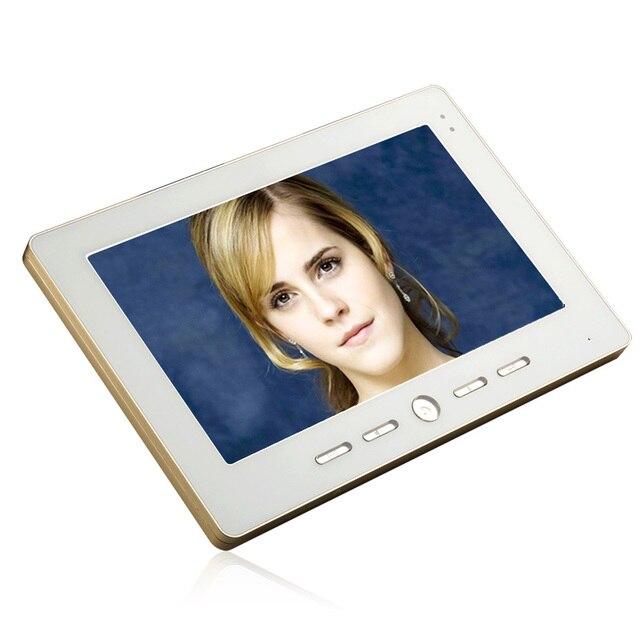 YobangSecurity Video Doorbell 10'' Color Video Door Phone Intercom Doorbell Unlock Indoor Monitor Rainproof Night Vision Camera