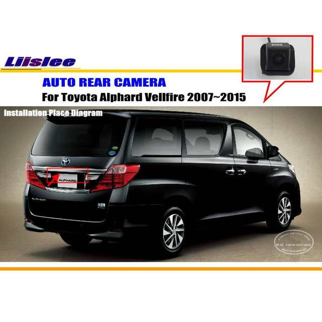 US $19 25 30% OFF|Liislee Car Camera For Toyota Alphard Vellfire 2007~2015  / Rear View Camera / HD CCD RCA NTST PAL / Reverse Hole OEM-in Vehicle