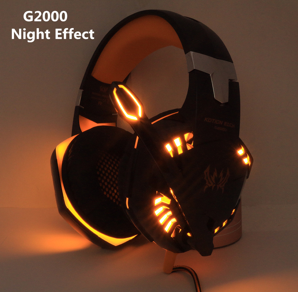 Gaming Headset and Gaming Mouse 4000 DPI Adjustable Stereo Gamer Earphone Headphones Gamer Mice LED Light