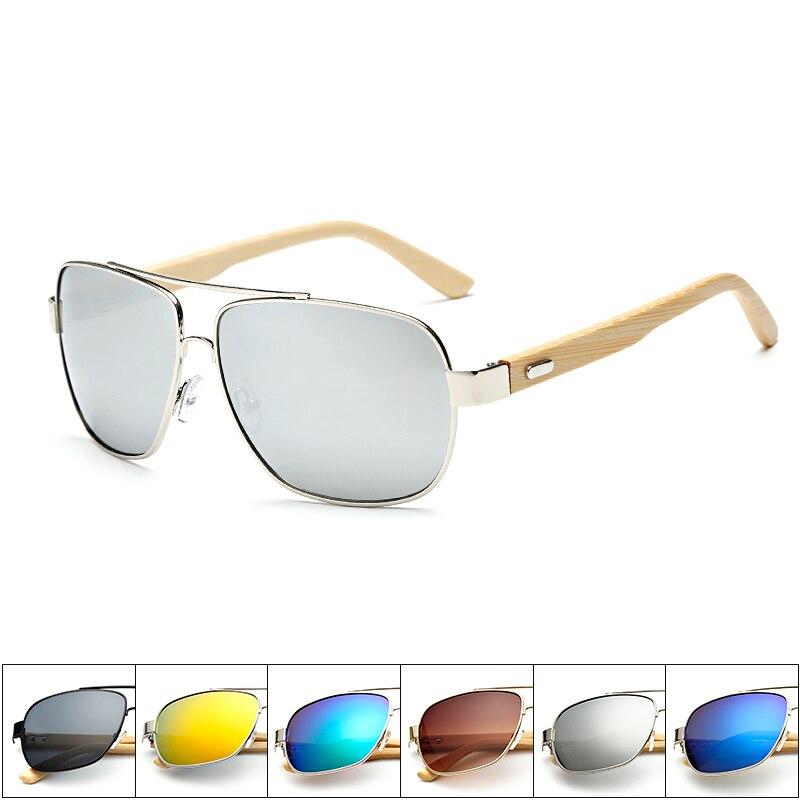 f1fb19a73d Bamboo Square Frame Retro Sunglasses Man Bamboo Glasses Leg Spectacles Bamboo  Frame Sunglasses Eyeglasses Unisex Goggle KP1511