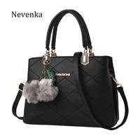 2016 Zipper Tote Genuine Leather Women Handbag Pu OL Style Shoulder Bag Women Bags Casual Crossbody