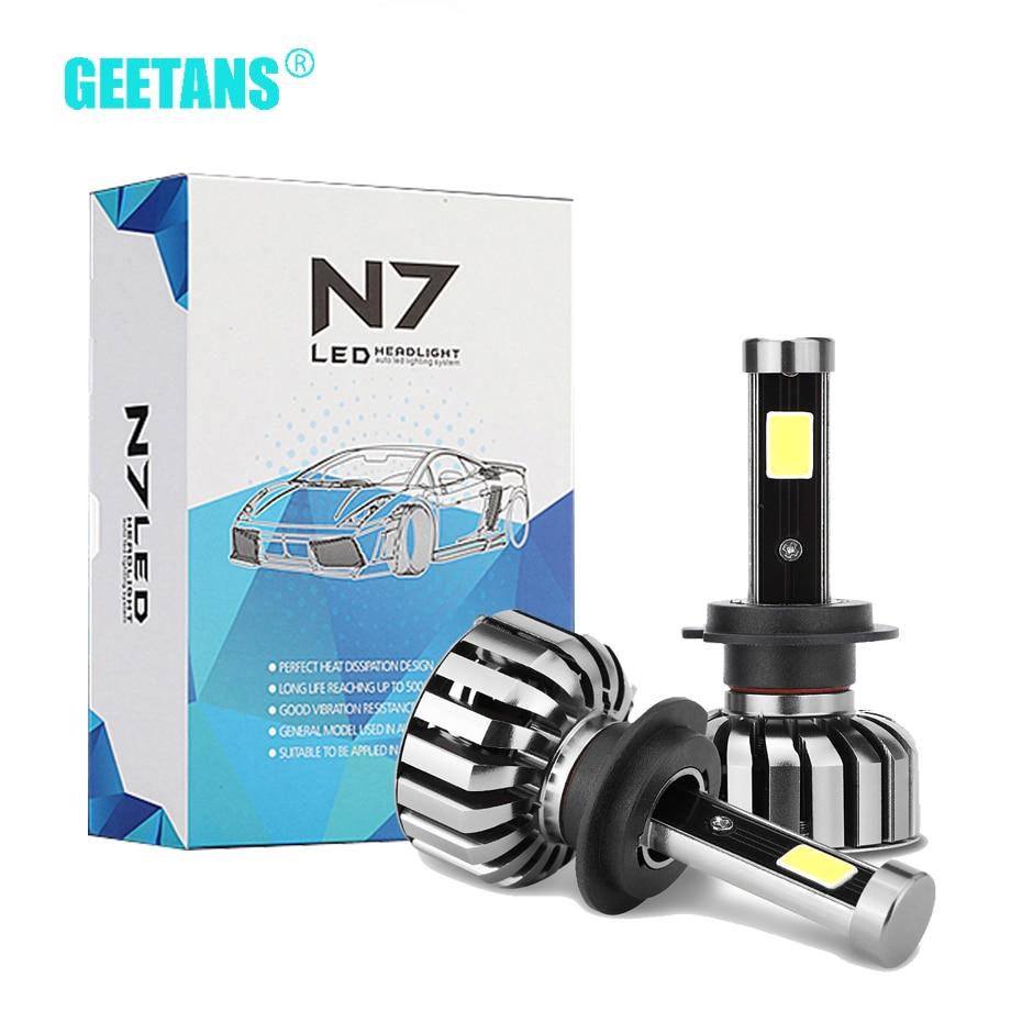 GEETANS H7 LED Dritë automatike të dritës së automjetit Fenerët - Dritat e makinave