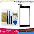 Free DIY Tools +Original New Touch Screen For Explay tornado Glass Capacitive sensor for Explay tornado Touch Screen panel Black