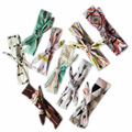 1PCNew 2016 Baby Girls Toddler Newborn BowKnot Floral Headband Rabbit Ear Hairband Feather Arrow Print DIY Accessories