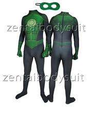 3D Print Moive Green Lantern Superhero Spandex skin Zentai Bodysuit Z Halloween Cosplay Party suit