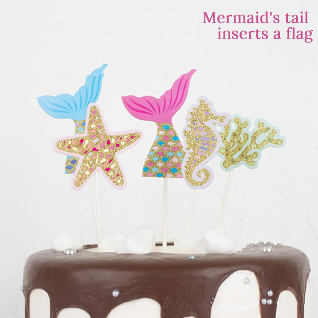 Toppers Mermaid party plates 5c64f5cb314ca