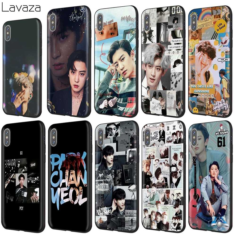 Lavaza Exo Chanyeol Case for iPhone 11 Pro XS Max XR X 8 7 6 6S Plus 5 5s se
