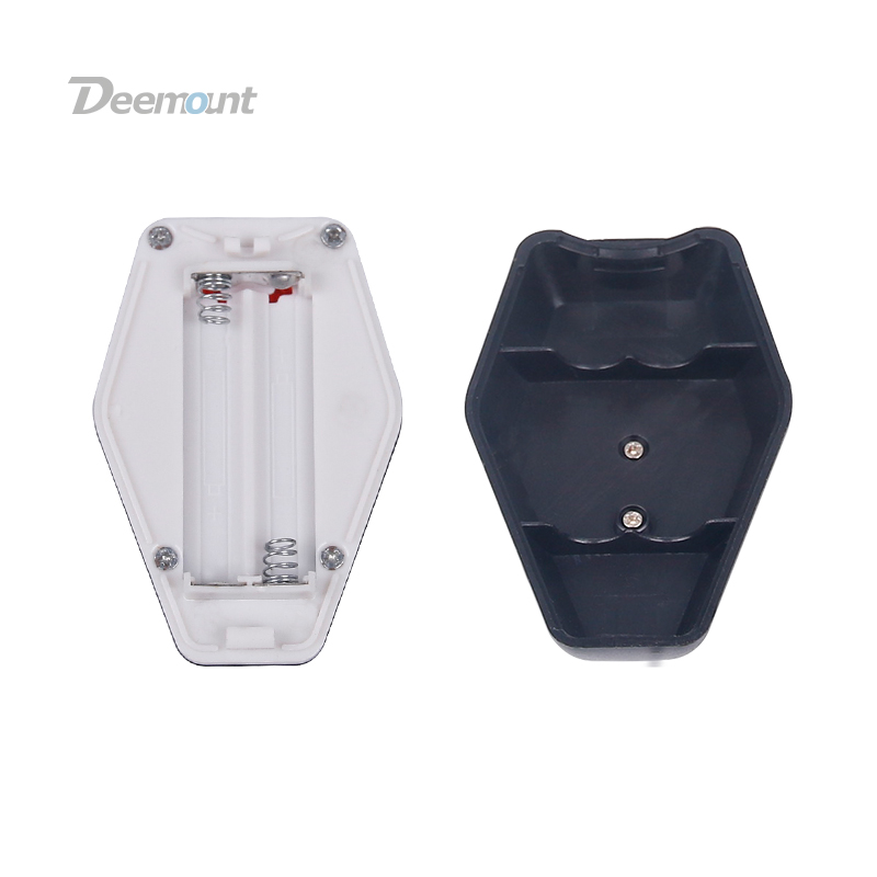 Deemount Bike Tail Light Bike Seat Post Visual Warning Lamp Rear Back Safety Lantern Seat Post Mount Battery Type