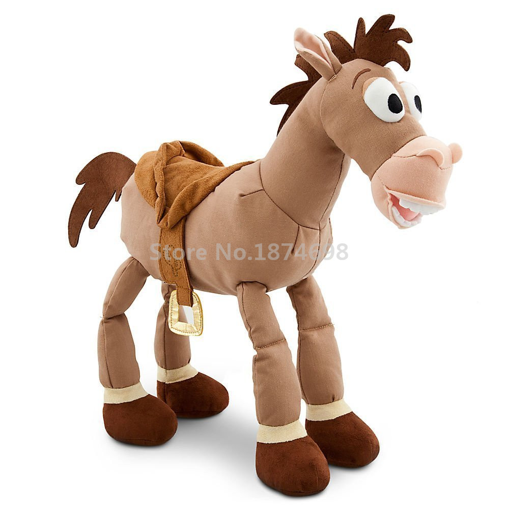 toy story woody horse bullseye plush toy 40cm with. Black Bedroom Furniture Sets. Home Design Ideas