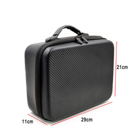 Waterproof Drone Bags For DJI SPARK Quadcopter Drone Body Remote Control and 2 Batteries Hard Shell Handbag Case Drone Accessory