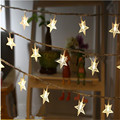 Led string light Star led lighting 10M 80led Christmas Star String light Red/Yellow/Green/Blue/White/Warm white luminaria