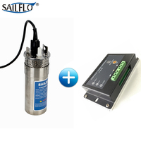 submersible pump 3.2GPM 4 Deep Well Water DC stainless Shell steel with MPPT controller
