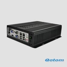Mini промышленного ПК с процессор Celeron 1037u Onboard, HD видео порт, 2 vga, 2 LAN, 6 USB, 7 последовательный порт, x86 Mini PC RS232