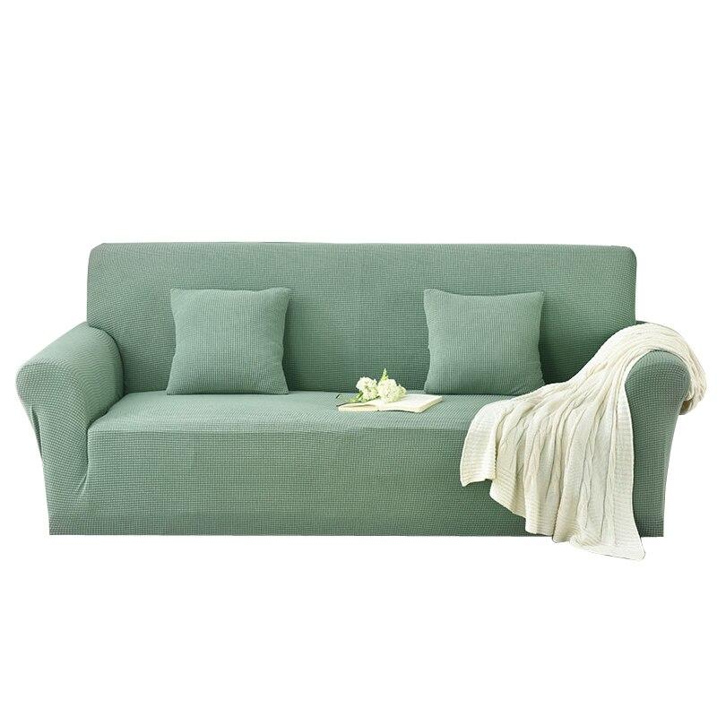Tout nouveau canapé doux stretch housse de canapé élastique canapé design simple fermeture à glissière amovible lavage en machine canapé compagnon