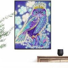 5d Diamond Painting Owl Animal Diamond Mosaic Full Square Diamond Embroidery Sale Rhinestone Picture Beadwork цена 2017