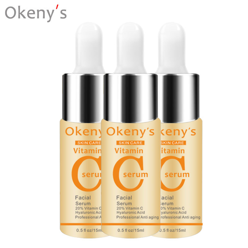 2019 Hot 1 Pcs Vitamin C Essence Skin Care Whitening Moisturizing Brighten Anti aging Remover Spots SJ66 in Serum from Beauty Health