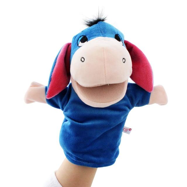 Bigmouth pacynka zwierząt pluszowe zabawki dla dzieci dorosłych z ruchomymi ustami zwierząt lalek Shark smok żaba niedźwiedź Bunny Monkey
