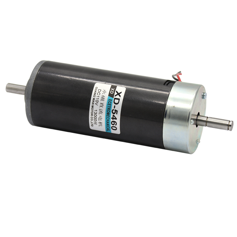 XD-5460 110V DC motor 500W dual output shaft high speed motor positive and negative permanent magnet speed regulating motor