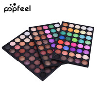 Popfeel Pro Natural 120 Color Super Light Eye Shadow Palette Cosmetic Makeup Beauty Tool Shimmer Matte