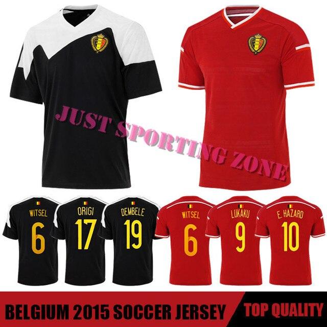 a267b8938a659 Camisa Belgium Soccer Jersey 2015