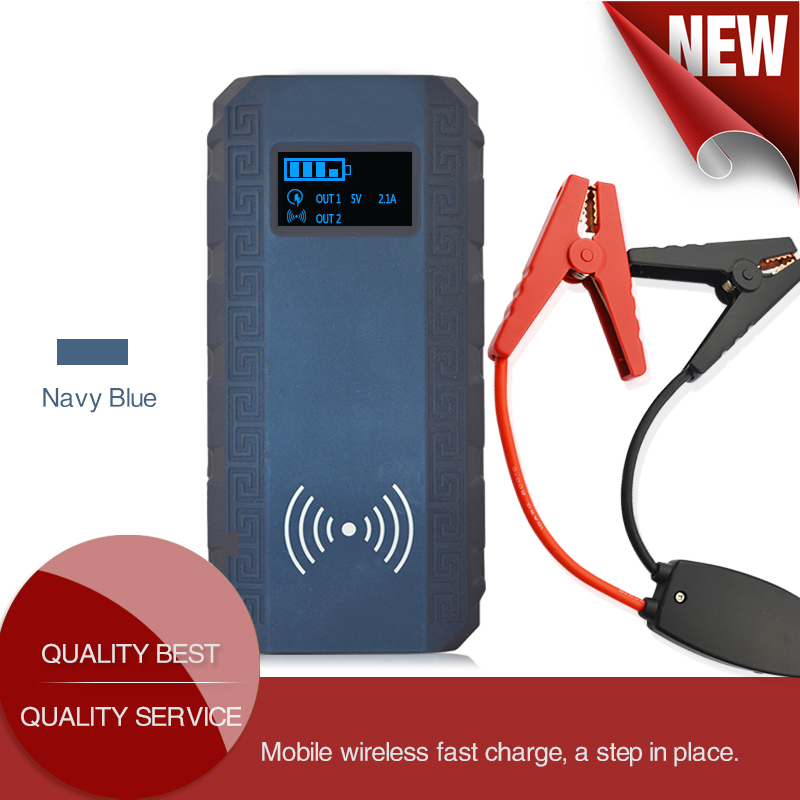 13500mAh Emergency Portable Mini Jump Starter Booster Battery Charger Jump Start For 12V Car Starting Device Power Bank newest 50800mah 12v car emergency start power bank vehicle jump starter booster portable current battery charger three light hot