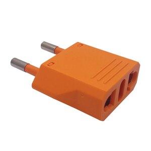 Image 5 - Bộ 5 EU Đa Năng Mỹ Nữ Cắm AC Du Lịch Điện Kết Nối Adapter Cắm Ổ Cắm 10A 250V