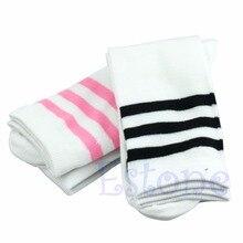 Cotton Over Knee Socks Thigh High Stockings Long Socks