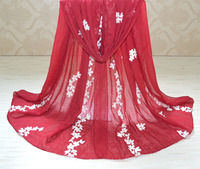 ladies scarves 2015,cotton scarf,Floral hijab,Plain shawl,Muslim hijab,Stereo embroidery,scarf Women,bandana,cape,designer,wrap