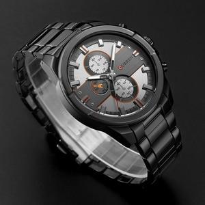 Image 5 - New Curren Luxury Brand Orologi Da Uomo Quarzo Moda Casual Sport Maschio Guardare Acciaio Pieno Orologi Militari Relogio Masculino