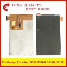 """10 יח\חבילה באיכות גבוהה 4.0 """"עבור Samsung Galaxy Ace 4 Neo G316 תצוגת G316M G316H G316F Lcd תצוגת מסך"""