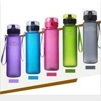 Tritan Material Portable Water Bottle Leakproof My Sport Shaker Bottles 400ml 560ml 650ml 1000ml Camping Kettle